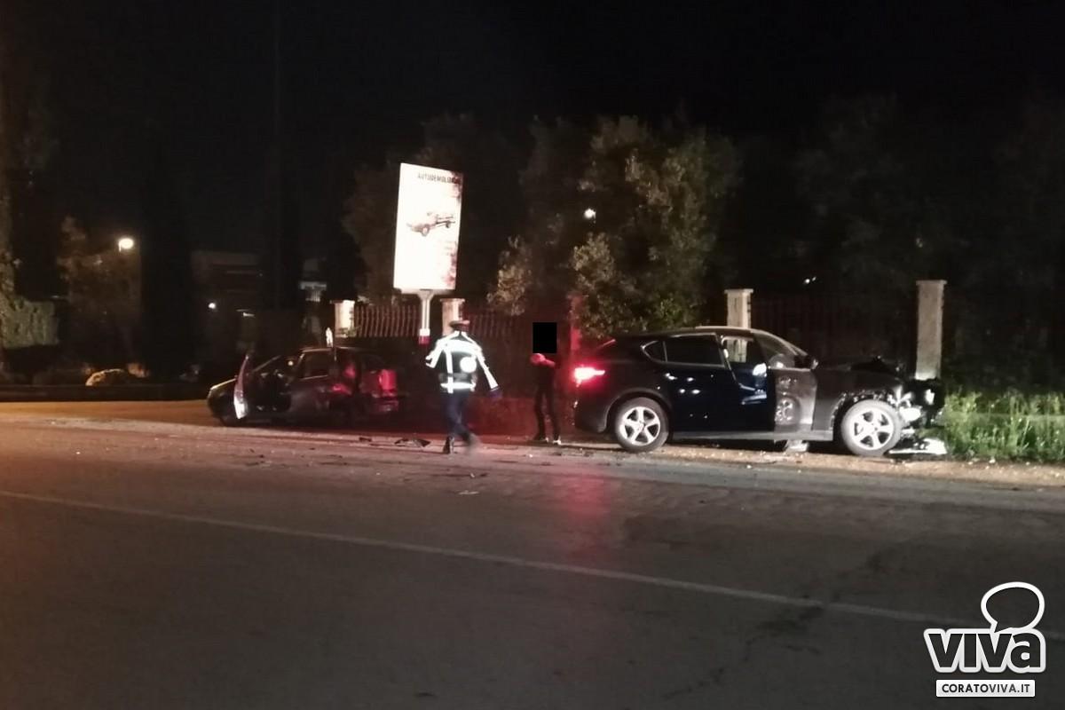 Incidente sulla Bisceglie-Andria, coinvolto un residente a Corato