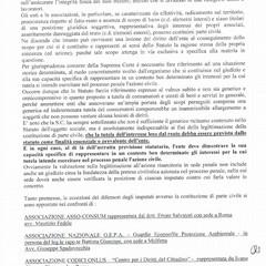 Solo l'ACU ammessa parte civile nello scontro ferroviario Bari nord