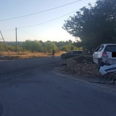 Incidente con feriti sulla provinciale Corato-Castel del Monte