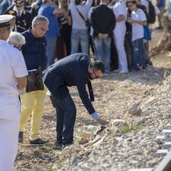 Il Ministro Toninelli sul luogo del disastro ferroviario del 2016