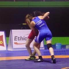 Gli atleti della Athlon Corato al campionato italiano assoluto di lotta stile libero