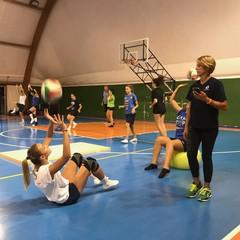 La preparazione atletica della squadra femminile