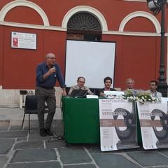 tavolo relatori cerimonia inuaugrazione mostra Verdelocco