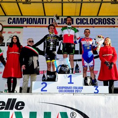 Team Eurobike Maurizio Carrer podio