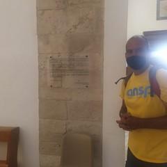 Francisco, il pellegrino della via Francigena