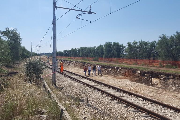 Binari disastro ferroviario