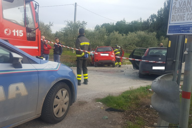 Incidente stradale Via Gravina