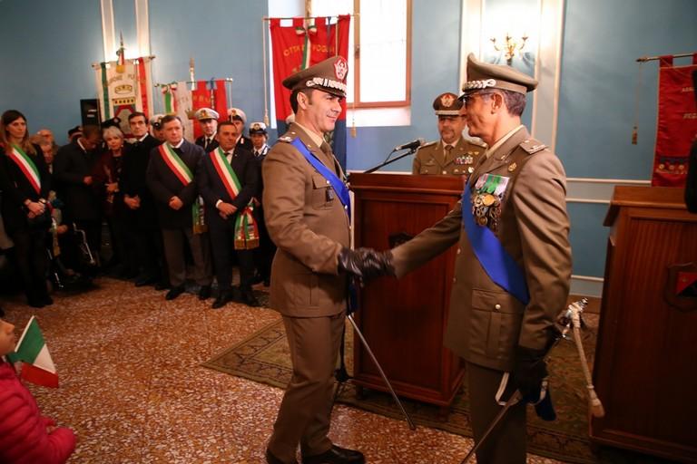 Generale Rainò Esercito Puglia