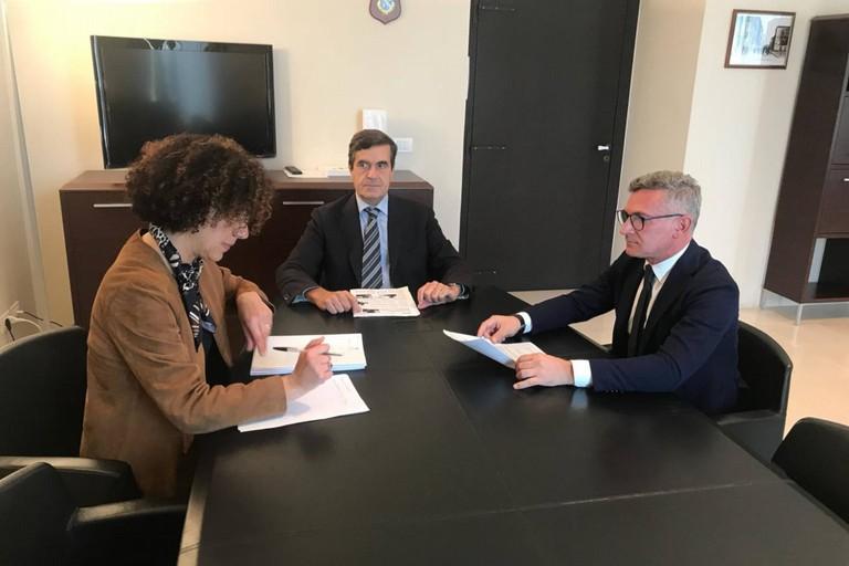 Il vice Presidente Cesare Troia incontra il Prefetto della Bat Sensi