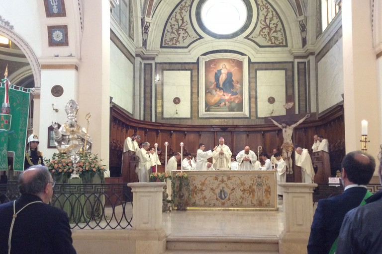 San Cataldo: il buon pastore della nostra comunità (Foto Luciana Cusanno )