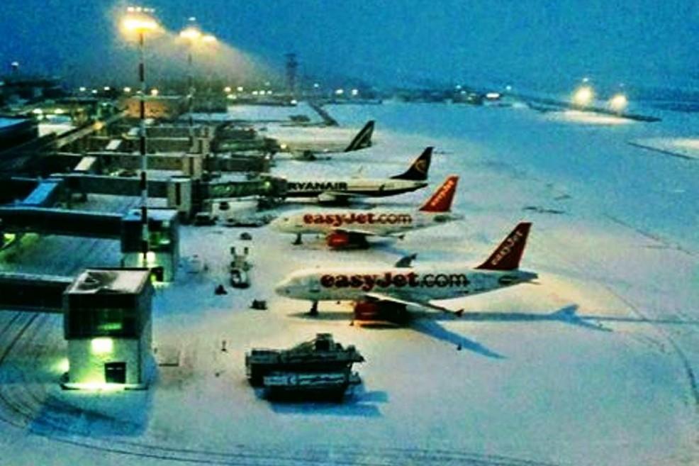 Aeroporto. <span>Foto da Facebook</span>