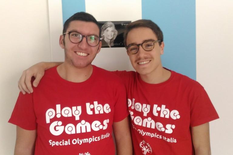 Gli studenti Angelo e Domenico Pio, promotori dell'iniziativa