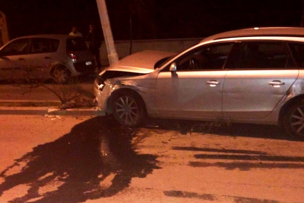 Audi incidente