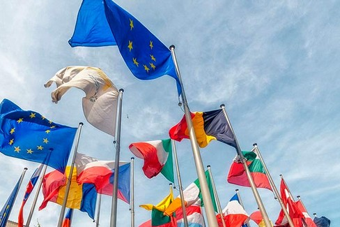 bandiere paesi europa