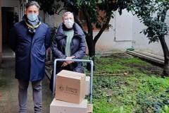 La solidarietà degli agricoltori arriva a Corato, pasta per i bisognosi del CADUM
