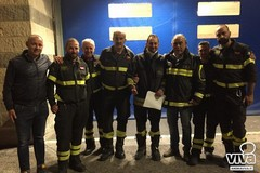 Dimesso il vigile del fuoco colpito dai calcinacci nel crollo della palazzina ad Andria