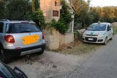 Auto rubata ritrovata dalle guardie campestri