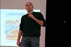 """""""La potenza dell'umanità"""", Francesco Piobbicchi al Liceo Artistico di Corato"""