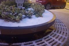 Corato si sveglia imbiancata dalla neve