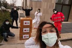 Gara di solidarietà per la Asl, 250 mascherine all'ospedale di Corato