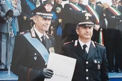 Il comandante Sergio Tedeschi si congeda dall'Arma