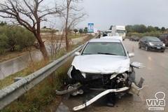 Brutto incidente sulla ex 98, veicoli distrutti
