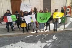 I piccoli scolari danno lezioni a Corato contro il bullismo