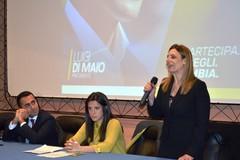 Angela Bruna Piarulli dal palco di Foggia: «Recuperare quell'ideale di legalità di cui siamo stati spogliati»
