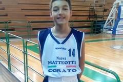 Angelo Mastrototaro convocato per il camping della NBA