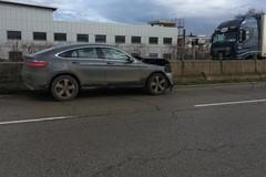 Auto contro tir sulla Sp 231