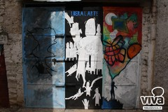 Gli allievi del Liceo Artistico riempiono di colori il borgo antico di Terlizzi