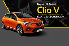 Nuova Clio V, rivoluzione tecnologica alla guida