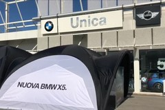 Nuova BMW X5 in Closed Room
