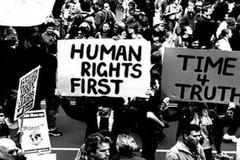 A Corato un corteo per il70° anniversariodella Dichiarazione Universale dei diritti dell'uomo