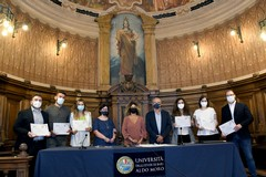 """""""Premi di laurea Granoro"""": premiati 10 laureati dell'Università di Bari"""
