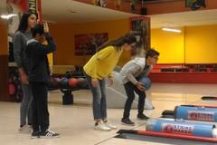 """Il team di Bowling di ragazzi con disabilità intellettiva all'""""Oriani"""""""