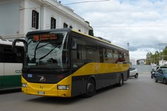 La neve frena anche il servizio bus di linea