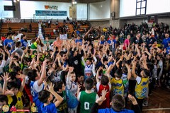 Festa regionale del minibasket, un successo firmato FIP e Basket Corato