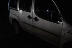 Auto rubata rinvenuta nelle campagne
