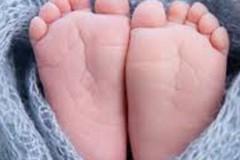 Fiocco azzurro per Francesco, il bambino che aveva fretta di nascere