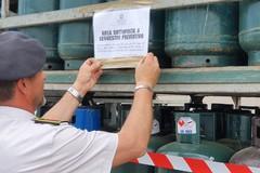 Maxi sequestro di bombole di gas, sigilli ad una azienda di Corato