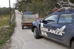 Auto rubata rinvenuta nelle campagne di Corato