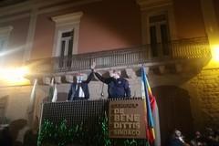 Grande festa di piazza per Corrado De Benedittis