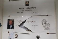 Vandalizzata la tomba del Commissario capo Fedele Tarantini