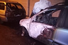 Epifania con incendio, in fiamme automobile