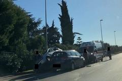 Incidente sulla Corato-Bisceglie, tre persone coinvolte