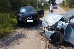 Brutto scontro frontale a Ruvo di Puglia, coinvolti 4 coratini