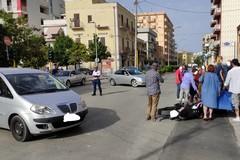 Incidente su viale Ettore Fieramosca, ferito centauro