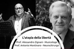 """L'utopia della libertà"""", per Kronos il dialogo tra ilMusicologo Zignanie ilNeurochirurgo Montinaro"""