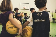 NMC, i più piccoli sotto i riflettori:  prosegue il progetto 'minibasket a scuola' che si apre anche al sociale
